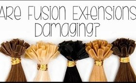 Are Fusion Hair Extensions Damaging? | Instant Beauty ♡