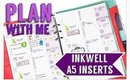 Plan with me: INKWELL PRESS A5 INSERTS #29