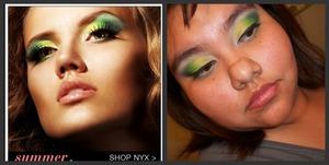 NYX copycat look (=