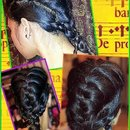 Lifted French Braid