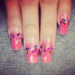 Colores en rosa.