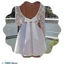 Beautiful White Designer Dress