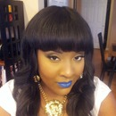 Makeup for an all white party in 2013