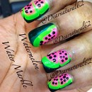 Watermelon Water Marble - Tutorial on YouTube at Dearnatural62