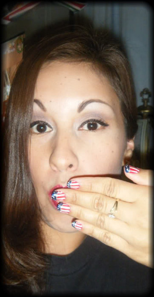 Nails inspired by Beyonce :)