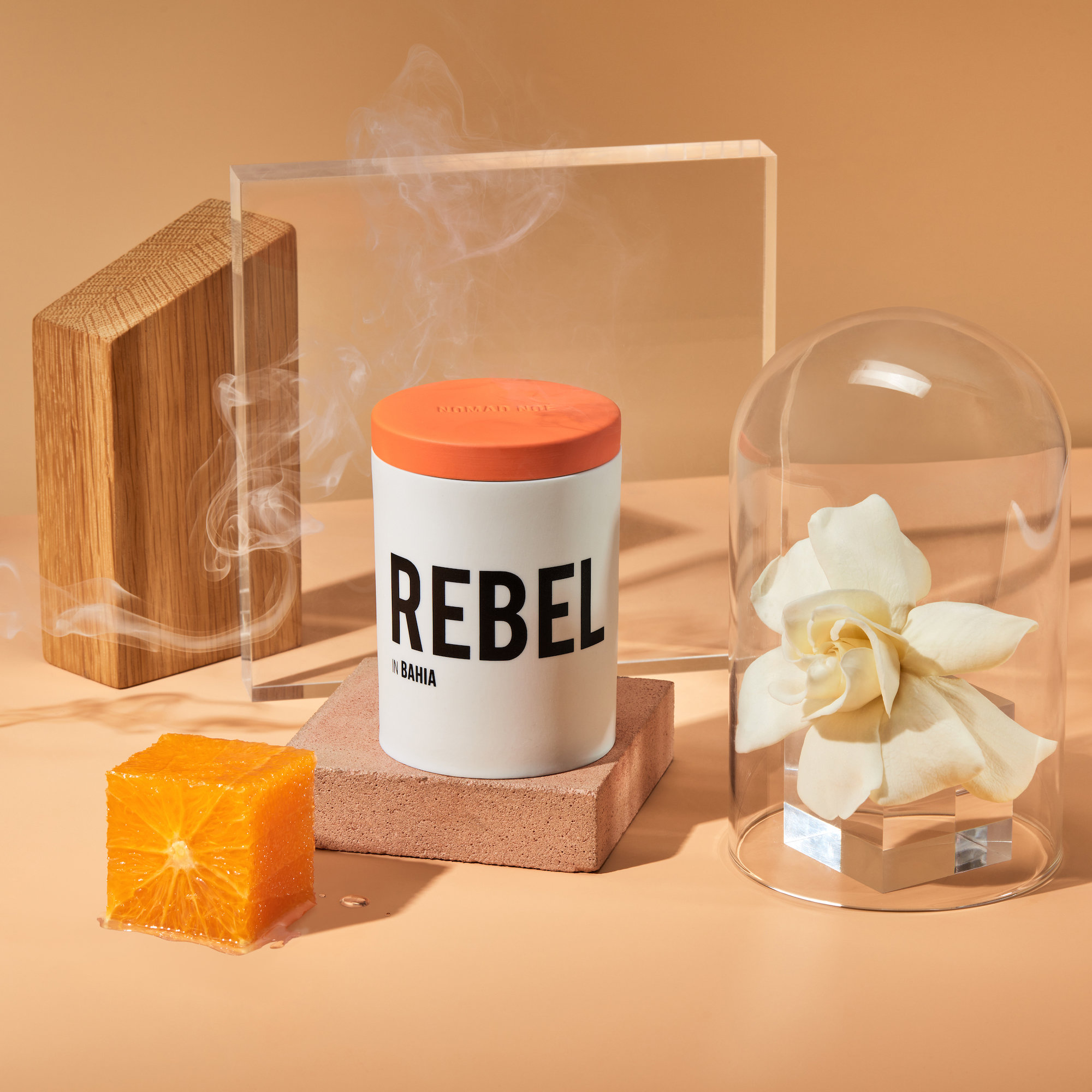 Alternate product image for Rebel In Bahia - Neroli & Incense Candle shown with the description.