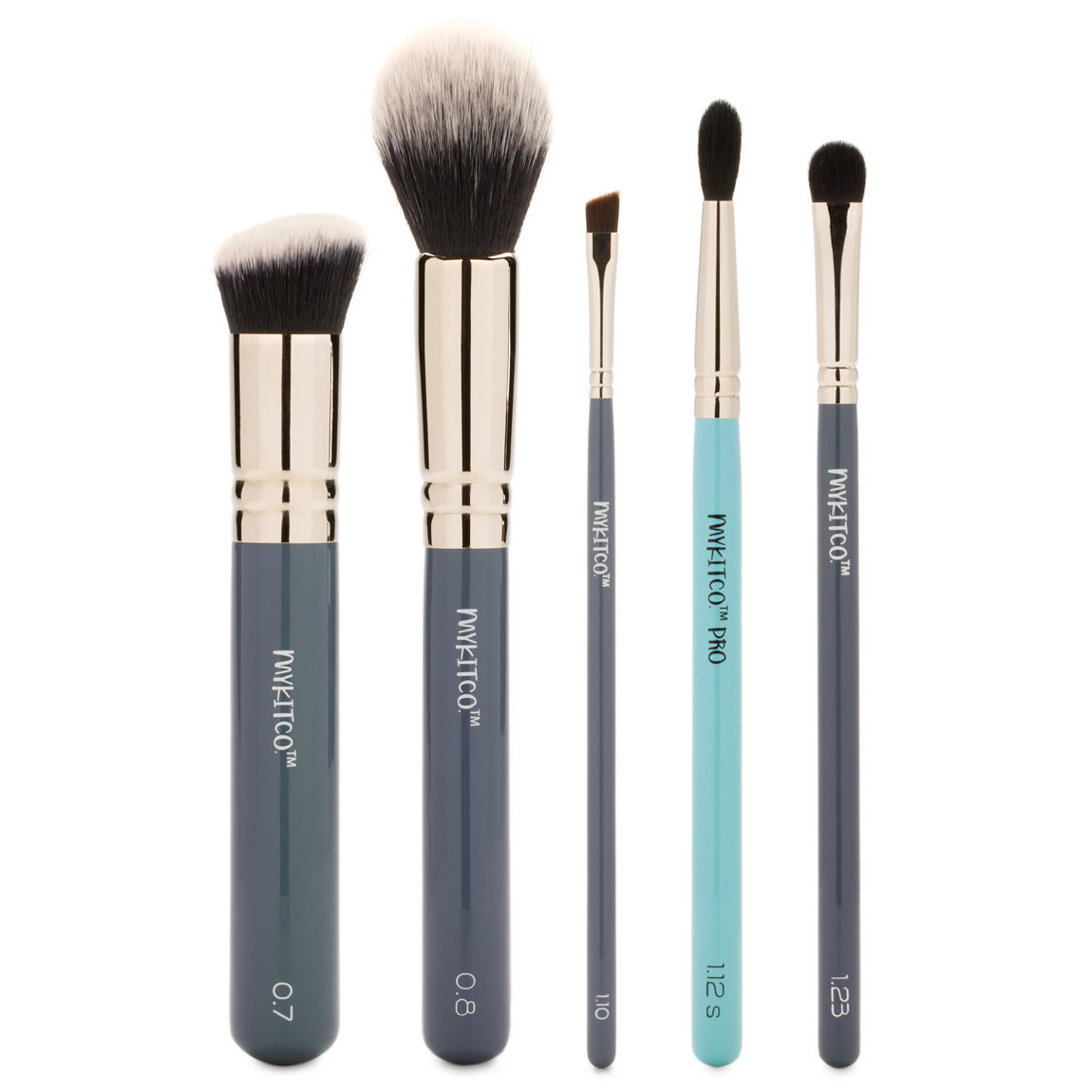 MYKITCO. My Essential Makeup Brush Set product swatch.