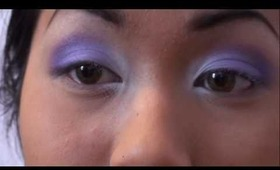 Valentine's Day Makeup: Soft Purple Smokey Eye
