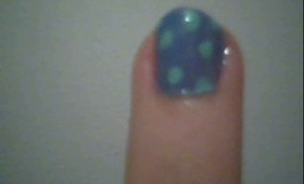 Super Easy Polka Dot Nails For Beginners