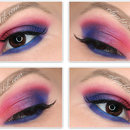 Urban Decay Electric Pressed Pigment Palette & Makeup #2