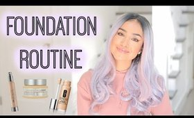 Matte & Flawless Foundation Routine for Oily Skin| Dulce Candy