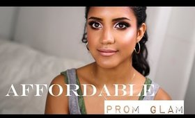 Affordable Prom Glam featuring Angie