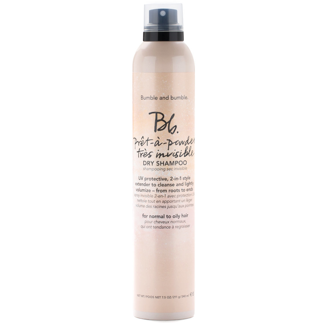 Bumble and bumble. Prêt-à-powder Très Invisible Dry Shampoo Jumbo - 340ml product smear.