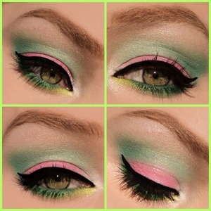 I made this look with the new sleek candy palette and my 88 palette that I got from ebay. I hope you like it! Check out my blog: http://themakeuphotspot.nl