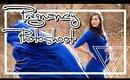39 Weeks Pregnant Sew Trendy Maternity Dress Review  | Caitlyn Kreklewich