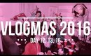 VLOGMAS DAY 12, 13 & 16 | BLOGGER CHRISTMAS PARTY!