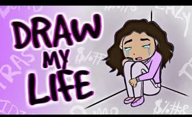 DRAW MY LIFE: XOJAHTNA | YouTube Saved My Life