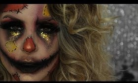 Scarecrow Halloween Makeup Tutorial