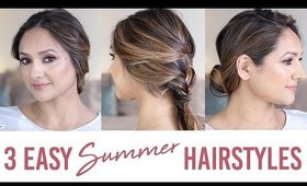 3 Easy Summer Hairstyles 2018