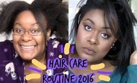 Hair Care Routine 2016