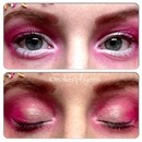 pink sprinkles makeup look