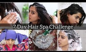 I Did Hair Spa EVERYDAY for a Week _ this Happened! || SuperWowStyle Prachi