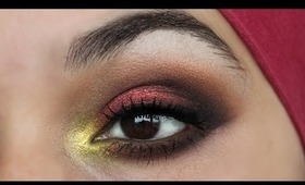FALL/AUTUMN INSPIRED MAKE-UP TUTORIAL