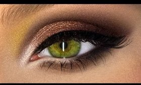 Heavy Metal Smoky Eyes - Great for Hooded Lids!