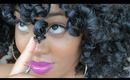 How to Get Perfectly Defined & Shiny Flat Twist & Curl Results using Shea Butter & Flaxseed Gel