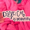 Different is beautiful