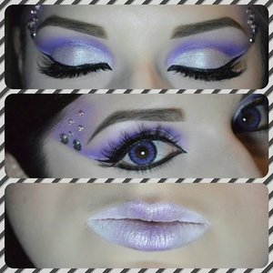 This look was part of a collaboration, the video of how I created it will be up on my channel. Here's the link, don't forget to like / favorite / share / and subscribe! http://www.youtube.com/user/caitlynkreklewich
