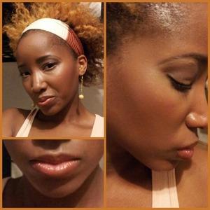 An all around sunkissed Bronzy glow w/ a neutral eye and glossy bronzed lips...<3