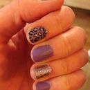 lavender leopard sparkle