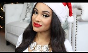 Get Ready With Me! : My Holiday Makeup