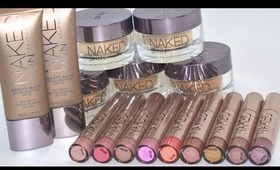 Getting Naked AGAIN! (New Urban Decay Products!!)