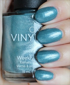 See my in-depth review & more swatches here: http://www.swatchandlearn.com/cnd-vinylux-daring-escape-swatches-review/