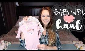 BABY GIRL HAUL | NURSERY DECOR & CLOTHING HAUL