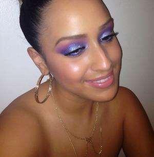 Tonight's makeup   Instagram: @Joleposh  My YouTube channel 😉💜 http://YouTube.com/Joleposh