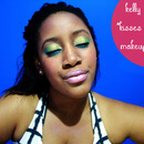 "How To: Kelly Rowland ""Kisses Down Low"" Video Makeup Look Tutorial."