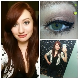 Really late upload but this is what I wore and how I did my makeup for V-Day
