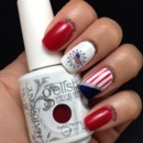 4th Of July / Independence Day Nails