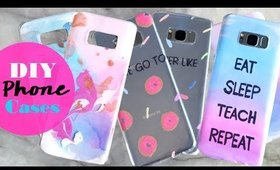 Easy DIY Phone Cases 2017 | Hiiyooitscat