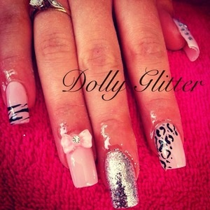 Baby doll nails ❤