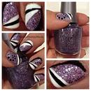 Purple Glitter Galore!