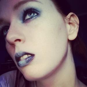 I was feeling a little Marilyn Manson.