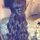 cute party updo