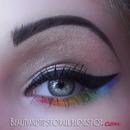 Eyeliner & Rainbow