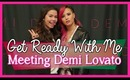 Meeting Demi Lovato ♡ Get ready with me + Concert Vlog