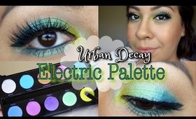 Mermaid Inspired Eyes Tutorial | Urban Decay Electric Palette