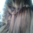 Lace Waterfall Braid